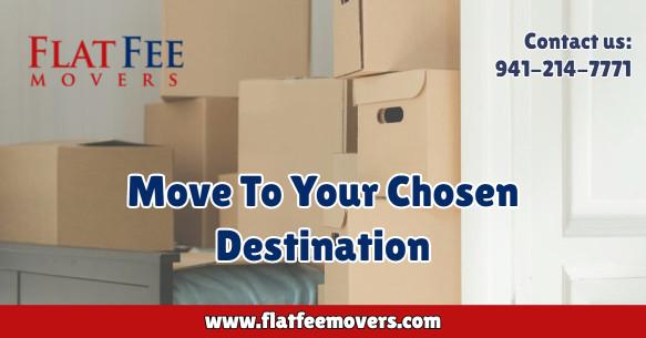 move to your chosen destination